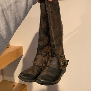 Shoes - Tall Brown Boots